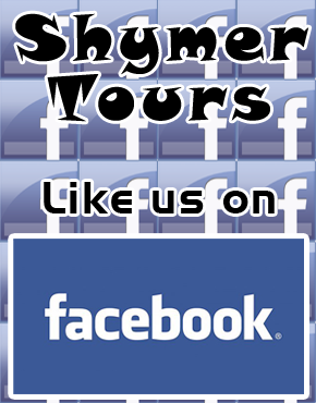 Like Shymer Tours on Facebook