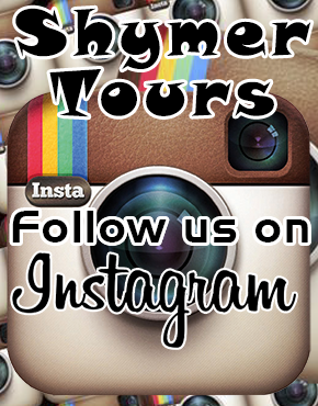 Follow Shymer Tours on Instagram