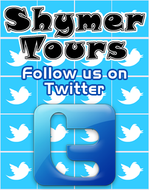 Follow Shymer Tours on Twitter