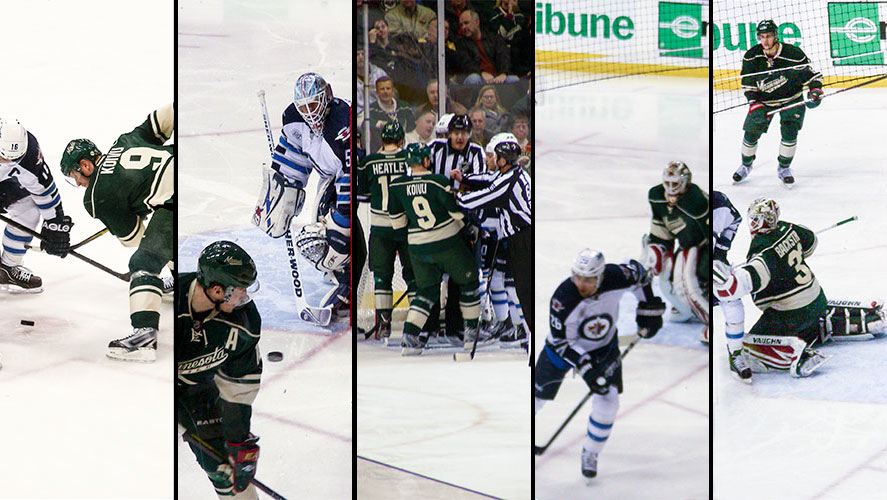 collage of wild jets game